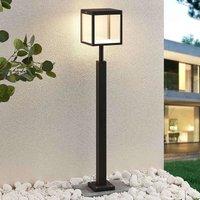 LED path light Cube  graphite grey  IP54  100 cm