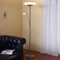 LED uplighter Ragna  reading light  matt nickel