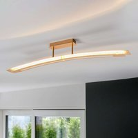 Lolina   bright LED ceiling light  gold
