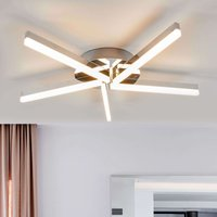 Bath LED ceiling light Patrik  chrome 5 bulb IP44