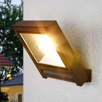 Dark grey LED spotlight for Maico for outdoors