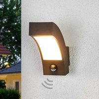 Lennik LED Exterior Wall Lamp with Motion Detector