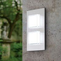 Pias LED Outside Wall Light Two Bulbs
