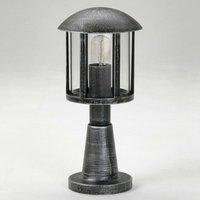 Mads pillar light in country house style  black
