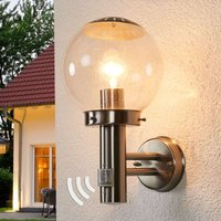 Bowle Exterior Wall Lamp with Motion Detector