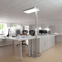 Factory office floor lamp  dual switchable