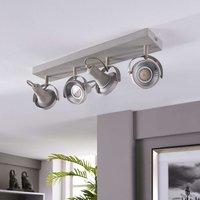 Oblong LED ceiling light Pieter  GU10