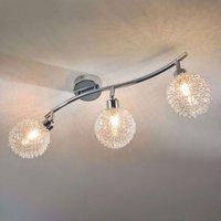 3 bulb LED ceiling light Ticino