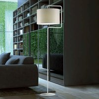 Cream coloured floor lamp Morfeo