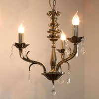 3 light chandelier Palazza with a classic design
