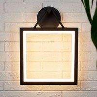 Frame shaped LED outdoor wall lamp Mirco