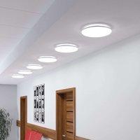 Jon LED ceiling light  cool white  round 24 W
