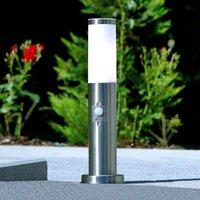 Discreet motion detector pillar lamp Kristof