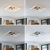 Perfectly shaped LED ceiling lamp Karsta  remote