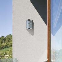 Marco1 Modern Exterior Wall Lamp incl  Sensor