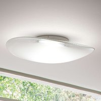 Powerful Loop glass ceiling light with LED 3000 K