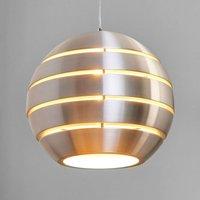Spherical Volo aluminium hanging light  40 cm