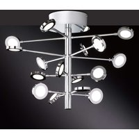Spectaculaire plafonnier LED Yoyce, 16 lampes (9217.16.01.6000)