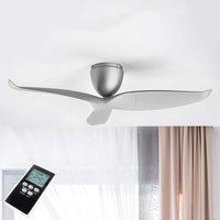 Ventilateur plafond Airvolution argenté 109,2cm