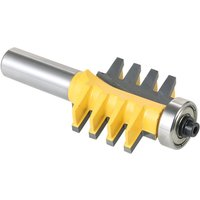 1/2 Shank Router Bit Cone Tenon Cutter Wood Milling Chisel Cutter
