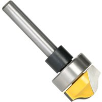 1/4 Shank Profile Groove Template Router Bit Woodworking Cemented Carbide Trim Groove Cutter Carving Tool,model: 2