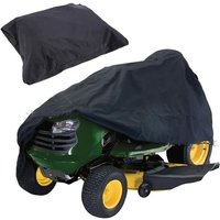 1 waterproof protective cover made of UV-resistant Oxford fabric for ride-on mowers (170 x 61 x 117 cm, black)