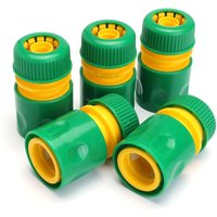 10 1/2 inch Garden Tap Water Hose Pipe Connector Quick Connect Adapter for Watering