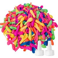 1000 Pack Water Balloons with Refill Kits, Latex Later Bomb Balloons Splash Fun, Summer Outdoor Party Supplies for Kids and Adults