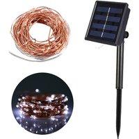 10M/32.8ft 100 LEDs Solar Powered String Lights Solar