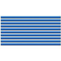 10pc Car Vent Outlet Trim Car Interior Moulding Trim PVC Car Air Conditioner Vent Outlet Trim Decoration Strip,model:Blue