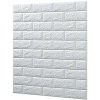10PCS 35 Sq.ft / set 3D Wall Stickers Imitation Brick Bedroom Decor waterproof Self-adhesive Wallpaper
