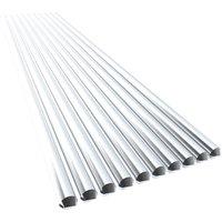 10PCS Low Temperature Aluminum Wire Flux Cored 3.2mm*450mm Al-Mg Soldering Rod No Need Solder Powder,model: 2