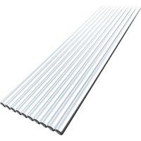 Asupermall - 10PCS Low Temperature Aluminum Wire Flux Cored 3.2mm*450mm Al-Mg Soldering Rod No Need Solder Powder,model: 4