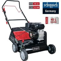 118Cc Petrol 40 Cm Lawn Scarifier 18 Blades 2200W 2,9 Hp Scheppach Sc40P