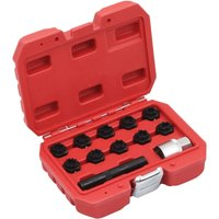 Asupermall - 12 Piece Rim Lock Socket Set for Mercedes