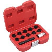 12 Piece Rim Lock Socket Set for Mercedes9017-Serial number