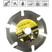 125mm 6T Circular Saw Blade Multitool Grinder Saw Disc Carbide Tipped Wood Cutting Disc Carving Disc Tool Multitool Blades - ASUPERMALL