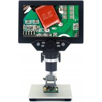 12MP Digital Microscope 1-1200X LCD Magnification LED LCD LED adjustable brightness, used for the quality control inspection of the mobile telephony
