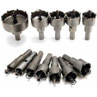 12PCS Saw Trepan Hole Drill Bit Milling Cutter Drill Bit Cutter Metal Tool Tip