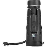 Asupermall - 12x50 High Definition Monocular Night Vision Monocular IR Illuminator Telescope with Carrying Case for Travel Birding,model: Combo 1