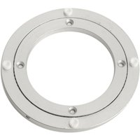 140x8.5mm Turntable Aluminum Table Rotary Rolling Tray Holder Kitchen Cake - MOHOO