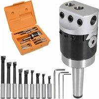 15 Pieces Boring Tool Set 50 mm Boring Head MT2-F1-12