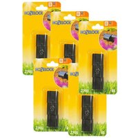 15 x 2769 End Plug Cap Connector 13mm Micro Irrigation Auto Watering - Hozelock