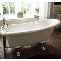 1500 X 730 Bathroom Traditional Freestanding Roll Top Bath