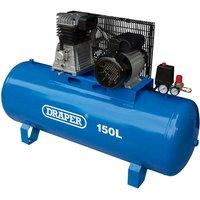 150L Stationary Belt-Driven Air Compressor (2.2kW) - 55304 -