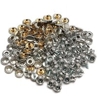 150X Marine Boat Canvas Cover Snap Stainless Steel Fixing Cap Cap 3/8 Inch Socket Mohoo