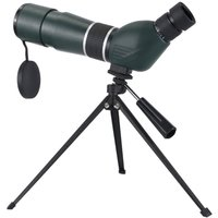 15X-45X Oblique Spotting Scope Single-tube HD Monocular 60mm Lens Telescope IP65 Waterproof with Storage Bag for Concert Sports Events Bird Watching
