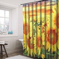 180 * 180CM Mold Proof Waterproof Shower Curtain