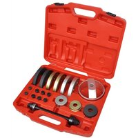 Vidaxl - 19 pcs Tool Set for Compact Wheel Hub Bearing Unit 62 mm, 66 mm, 72 mm