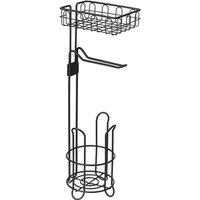 1Pc Toilet Paper Holder Space Saving Bathroom Storage Rack Magazine Rack Stand Organizer Tissue Holder 61x16.5x16.5cm
